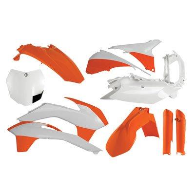 Acerbis Full Plastic Kit 14 Factory KTM for KTM 450 SX-F Factory Edition 2012-2014