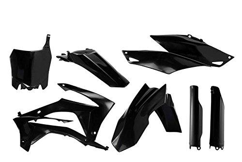 Acerbis Full Plastic Kit - Black 2630700001