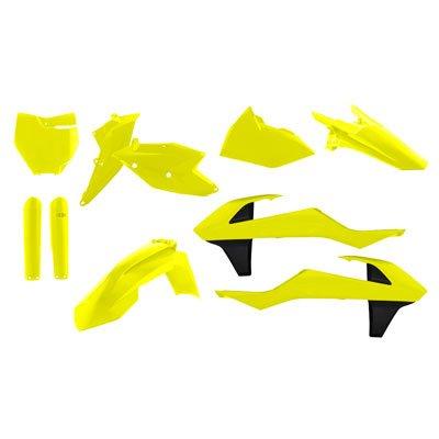 Acerbis Full Plastic Kit - FLO YELLOW - KTM SX125150 SX-F XC-F 2016-2017 SX250XC 2017 _2421064310
