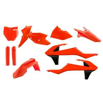 Acerbis Full Plastic Kit Flo Orange for KTM 250 SX-F Factory Edition 2015-2017