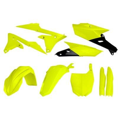 Acerbis Full Plastic Kit Flo Yellow for Yamaha YZ450F 2014-2017