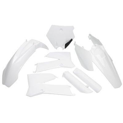 Acerbis Full Plastic Kit White for KTM 105 SX 2004