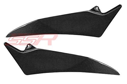 2009-2014 Yamaha YZF-R1 Carbon Fiber Fibre Under Tankseat Side Panel Cover Fairings
