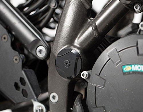 SW-MOTECH Left Right Side Frame Cap Set for KTM 1050 Adventure 15-16 1190 Adventure 13-16 1290 Adventure 15-16