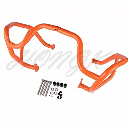 HongK- Orange Engine Guard Protector Crash Bars Frame for KTM 1190 AdventureR 2013-16