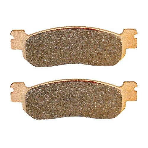 Caltric BRAKE PADS Fits YAMAHA YP250 YP-250 X MAX 2005-2010 REAR BRAKE PADS