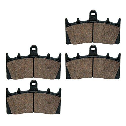 Caltric Brake Pads FITS KAWASAKI VN1600 VN-1600 VULCAN 1600 Mean Streak 2004 Front Brakes