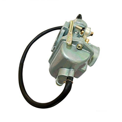 20mm Carburetor KEIHIN PZ20 Carb with Hand Choke for 90cc 100cc 110cc Horizontal Engine ATVs Dirt Pit Bike Quad Go Kart - Zinc