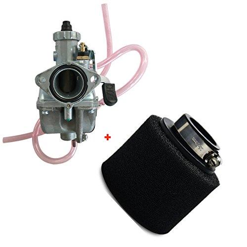 ZXTDR Mikuni VM22 26mm Carburetor and 38mm Air Filter for Pit Dirt Bike 125cc 150cc