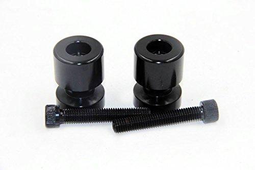 HTT Black Flat Swingarm Spools No logo 8mm Thread For Suzuki GSXR 750 1992-2011 GSXR 1000 2001-2012 GSXR 1100 1992-1998 GSXR 600 1992-2012 TL1000R 1998-2003