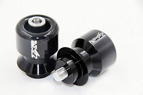 Black 10Mm Swingarm Spools For Kawasaki Ninja 250R 650R Zx 6R 9R 10R 12R 14R Zzr