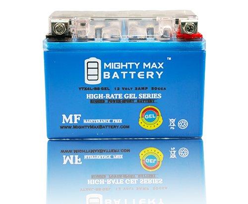 YTX4L-BS GEL Battery for Honda 50 Aero Spree Elite NQ50 SA50 - Mighty Max Battery brand product