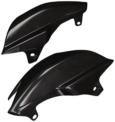 Bestem CBDU-HPMTD-SUF Black Carbon Fiber Side Tail Under Seat Fairings for Ducati Hypermotard 7961100