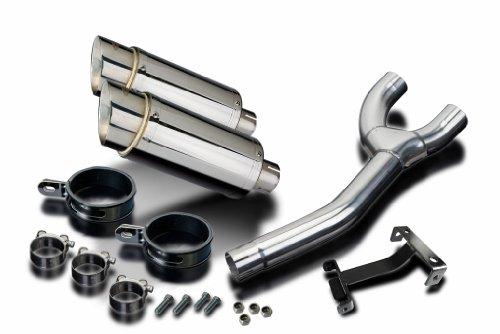 Yamaha FZ6 Mini 8 Stainless Round Muffler Exhaust Slip On 04 05 06 07 08 09 10