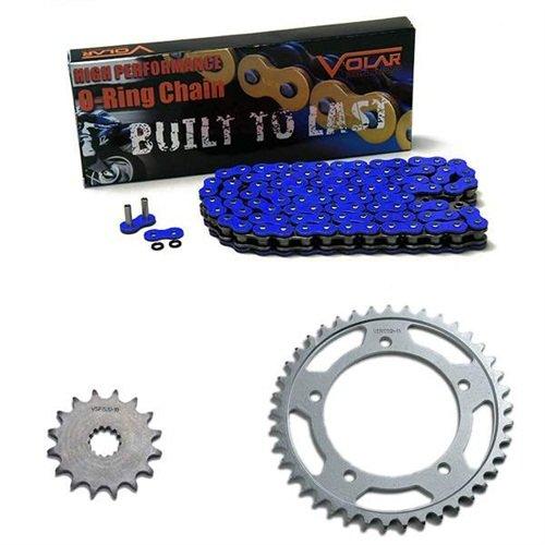 2001-2005 Yamaha FZ1 O-Ring Chain and Sprocket Kit - Blue