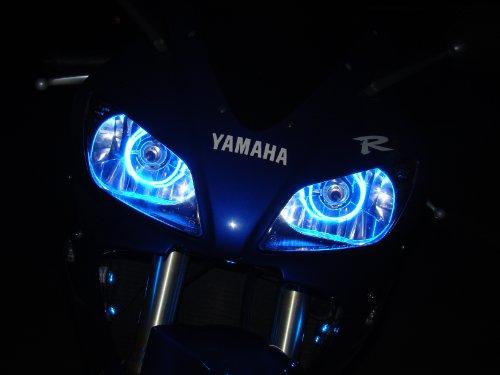 Yamaha FZ1 FZ6 FZ6r R1 R6 1997-2017 CCFL Halo Angel Demon Eyes