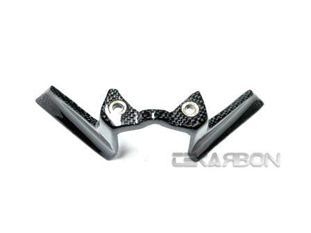 2008 - 2011 Ducati Monster 696 796 1100 Carbon Fiber Key Guard Cover