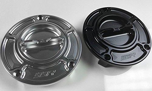 2014 2015 2016 2017 Honda CBR1000RR Fireblade 2015 2016 2017 2018 Honda NM4 NC700JD Keyless Race CNC Billet Aluminum Fuel Gas Petrol Cap Silver