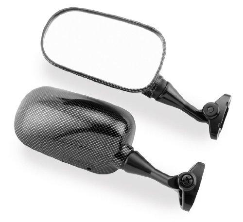 Bikemaster OEM Replacement Mirrors - 1999-2006 Honda CBR600F4F4i - Carbon F - Left