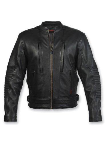 Milwaukee Motorcycle Clothing Company Mens Sioux Falls Jacket Black XXX-Large