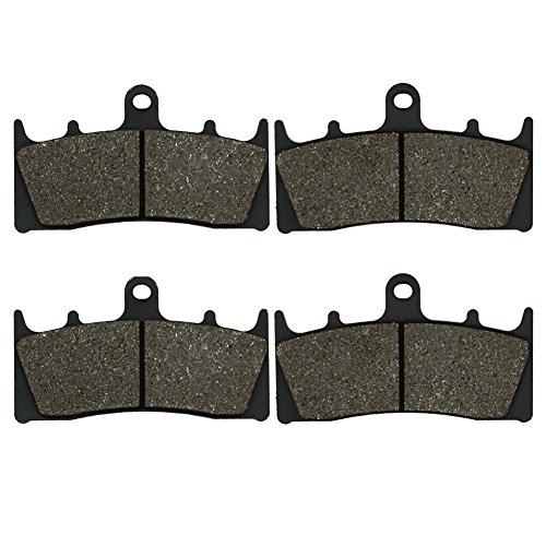 Cyleto Front Brake Pads for SUZUKI GSXR 1100 GSXR1100 GV75A 1993 1994 1995 1996 1997 1998