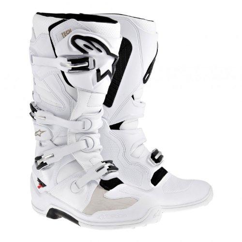 Alpinestars Revolutionized 2014 Tech 7 MX Boots White Size 10 3410-1128