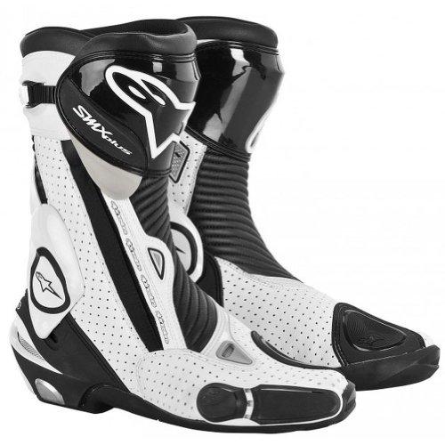Alpinestars SMX Plus Vented Boots - 125 US  48 EuroBlackWhite