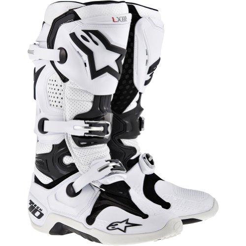 Alpinestars Tech 10 Boots - 2014 8 White