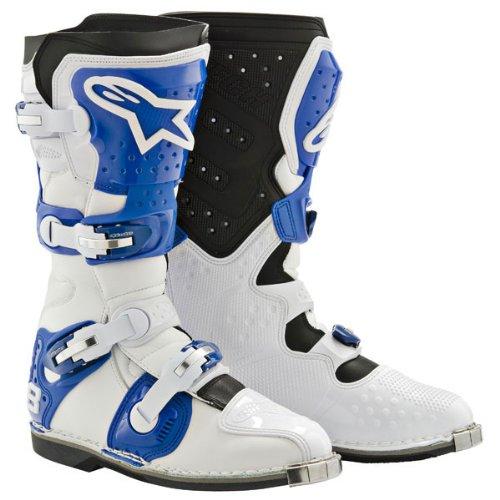 Alpinestars Tech 8 Light Boots White Blue Us 11