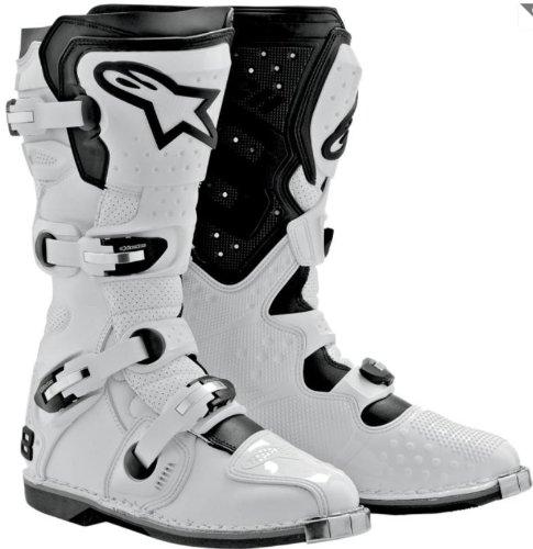 Alpinestars Tech 8 Light Boots White Us 10