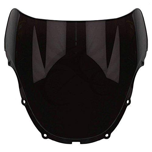 TCMT Motorcycle Windshields Black Windscreen For Honda CBR600 CBR 600 F4 1999 2000