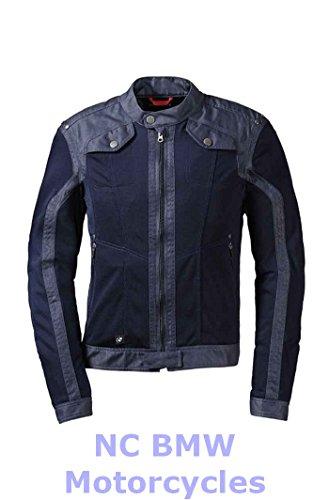 BMW Genuine Motorrad Motorcycle Men Venting Denim  Mesh Riding Jacket Size 60