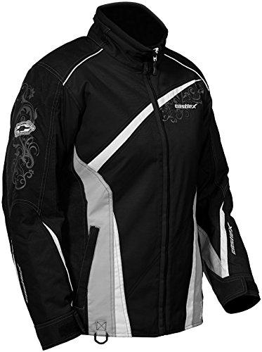 Castle X Charm G2 Womens Winter Snowmobile Riding Jacket Medium Black