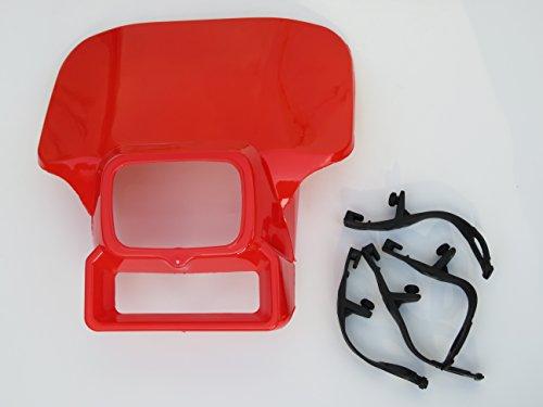 Flash Red Honda Xr250 Xr350 Xr500 Xr600 Xr 250 350 500 600 Headlight cover