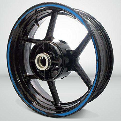 Matte Blue Streak Outer Rim Liner Stripe for Honda NC 700X