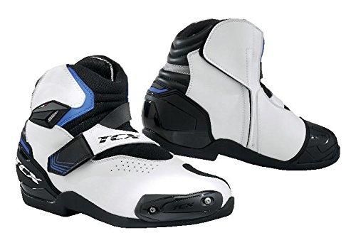 TCX Roadster 2 AIR Motorcycle Boots WhiteBlackBlue EU40US7 More Size Options