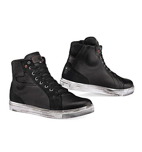 TCX Street Ace Waterproof Black Motorcycle Boots 9400W 47  125
