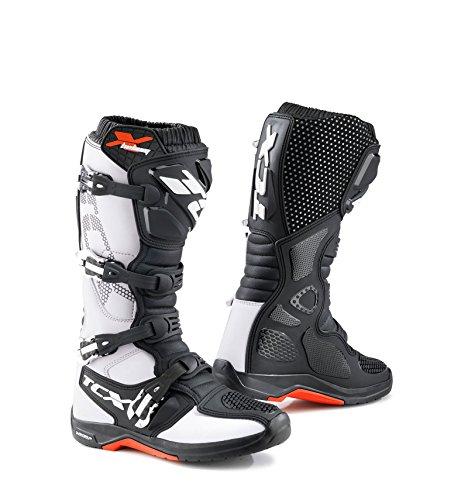 TCX X-Helium Michelin White Offroad Boots 9671 BIAN 44  10