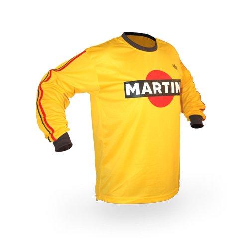 Reign VMX Martini Vintage Style Motocross Jersey - Size Large