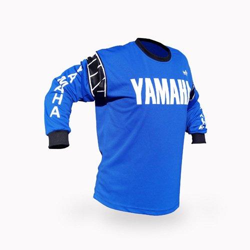 Reign VMX Yamaha Vintage Style Blue Motocross Jersey - Size XX-Large
