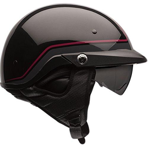 Bell Pin Pit Boss Cruiser Motorcycle Helmet - Dark RedBlack  X-Large2X-Large