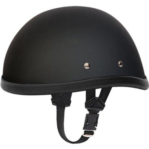 Daytona Eagle BasicCustom Novelty Cruiser Motorcycle Helmet - Dull Black  Large