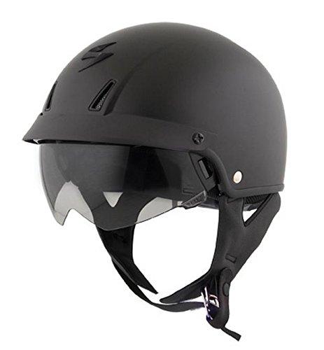 Scorpion Solid EXO-C110 Cruiser Motorcycle Helmet - Matte Black  Large