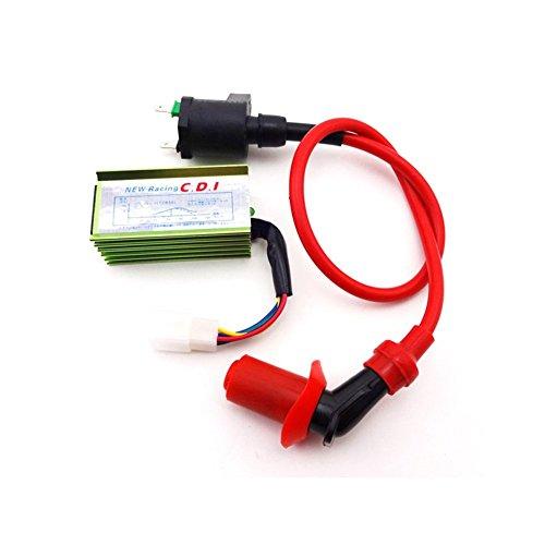 TC-Motor Racing 5 Pin AC CDI  Ignition Coil For 50cc 70cc 90cc 110cc 125cc Engine Go Kart Xtreme Kazuma ATV Quad 4 Wheeler