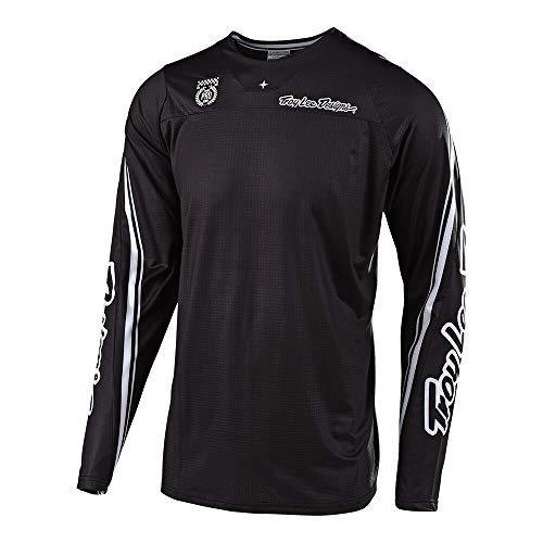 Troy Lee Designs Mens Off-Road Motocross Motorcycle SE Pro Men In Black Jersey Black Large