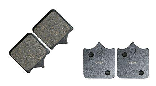 CNBK Front Brake Shoe Pads Semi-met fit for HUSQVARNA Dirt Bike SM610 SM 610 S Radcal 06 06 2006 2 Pair4 Pads