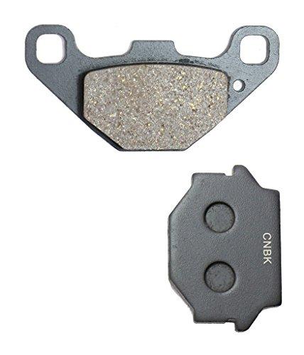 CNBK Rear Brake Pad Semi Met fit for HUSQVARNA Dirt Bike WR260 WR 260 90up 1990up 1 Pair2 Pads