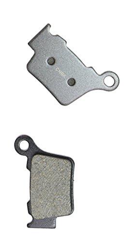 CNBK Rear Brake Pad Semi Metallic for HUSQVARNA Dirt Bike TE570 TE 570 09 10 11 12 13 2009 2010 2011 2012 2013 1 Pair2 Pads