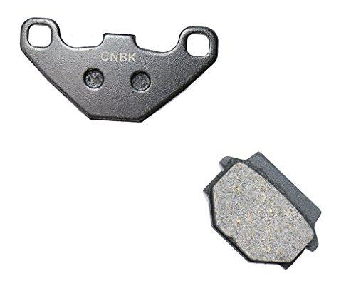 CNBK Rear Brake Pad Semi-Metallic for HUSQVARNA Dirt Bike WRK240 WRK 240 90up 1990up 1 Pair2 Pads
