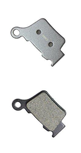 CNBK Rear Brake Pad Semi-met for HUSQVARNA Dirt Bike TC450 TC 450 05 06 07 08 09 10 2005 2006 2007 2008 2009 2010 1 Pair2 Pads
